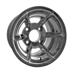 Picture of Sabre, 10x7 Polished wheel with 3+4 offset. Suggested center caps 10909/40903