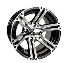 Picture of Specter, 10x7 Machined w/Black wheel with 3+4 offset. Includes center cap 40516
