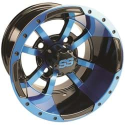 Picture of GTW Storm Trooper 10x7 Black/Blue Wheel