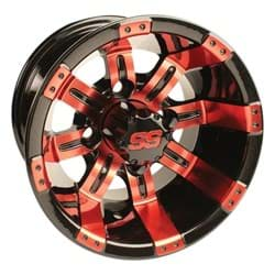 Picture of GTW Tempest 10x7 Black/Red Wheel