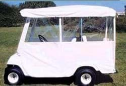 Picture of Enclosure, three sided, for 4-passenger car, ivory