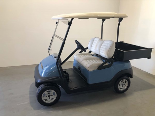 Picture of Used - 2010 - Electric - Club Car Precedent - Light Blue - (Refurbished) - No Batteries