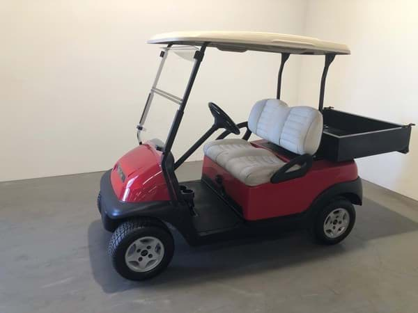 Picture of Used - 2010 - Electric - Club Car Precedent - Red - (Refurbished) - No Batteries